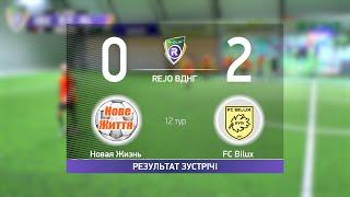 Обзор матча Новая Жизнь 0 2 FC Bilux Турнир по мини футболу в городе Киев