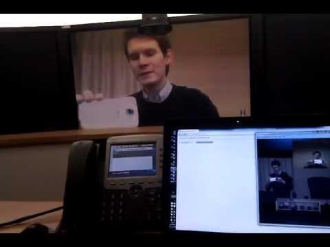 Skype to Cisco TelePresence video call