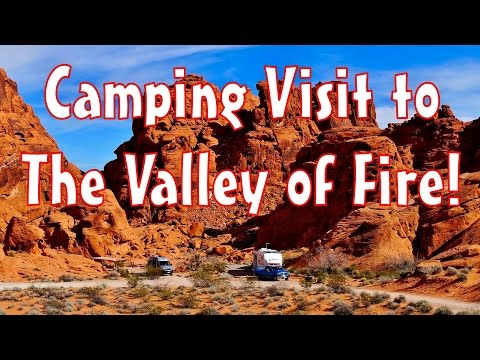 Camping Visit to Valley of Fire State Park, Nevada