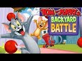 TOM AND JERRY -  BACKYARD BATTLE. Fun Tom and Jerry 2018 Games. Baby Games cartoon #GARMAY