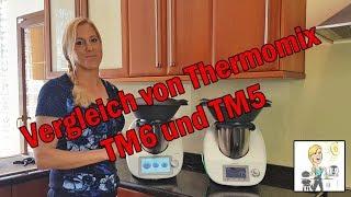 Vergleich von Thermomix TM6 und Thermomix TM5