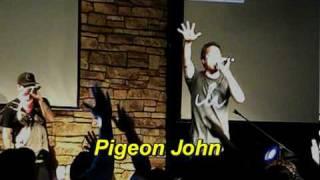 Pigeon John oxnard & ventura hip hop hURRAY
