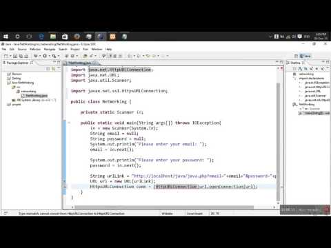 Java Networking using HttpURLConnection - YouTube