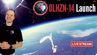 OLHZN-14 Live 🔴 Launch Operations | High Altitude Weather Balloon | Part 1 of 2