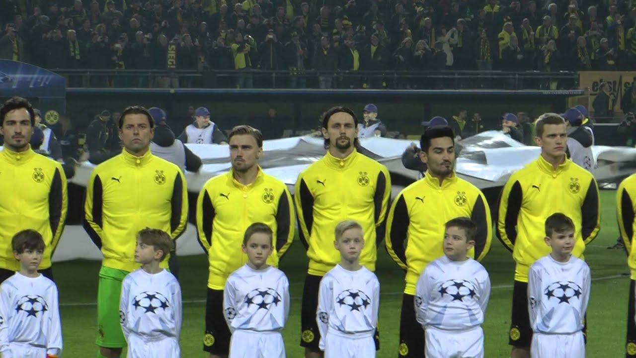 Choreo Borussia Dortmund - Juventus Turin BVB - Juve  0-3