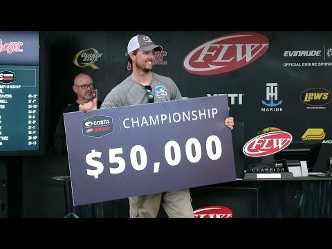 2017 Costa FLW Series Championship | Kentucky Lake | Winning Moment