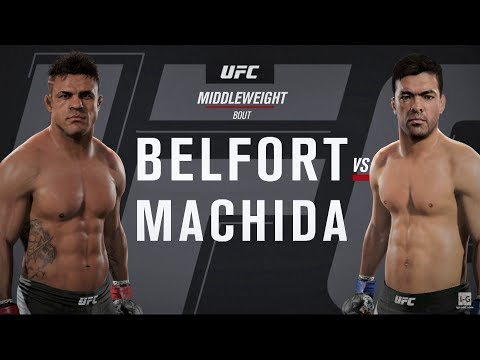 EA Sports UFC 2 - Vitor Belfort Vs Lyoto Machida UFC 224 Full Fight Simulation