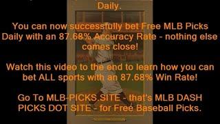 Free MLB Picks Daily - 87.68% Win Rate -  Get Free MLB Picks at MLB-PICKS.SITE