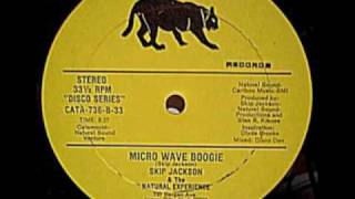 "Skip Jackson & The Natural Experience ""Microwave Boogie"" 12"" 8.32 version"