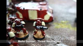 Warhammer 40k Stop Motion Battle Report Season 2 Battle 2 Blood Ravens v Tyranids