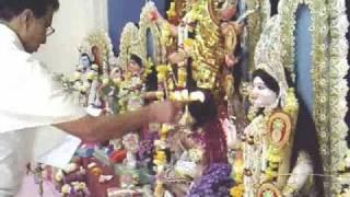 Maha_Saptami_Durga_Puja. (Music Dhak Bodhan)