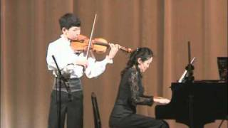 Jaroslav Kocian. Intermezzo Pittoresque Op. 18 No. 2. Bilguun Bayartsogt, Mongolia, 2010