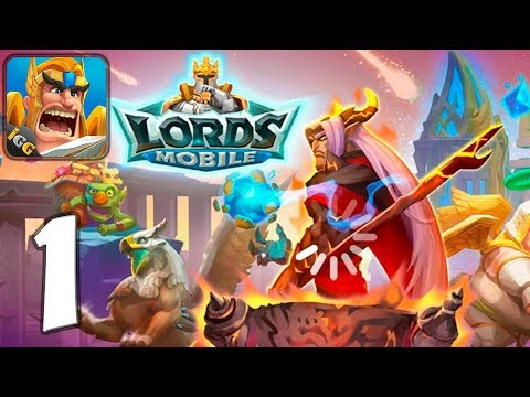 lords-mobile:-kingdom-wars---mobile-gameplay-walkthrough-part-1-(ios,-android)