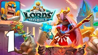 Lords Mobile: Kingdom Wars - Mobile Gameplay Walkthrough Part 1 (iOS, Android) screenshot 2