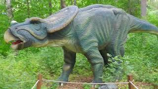 Парк динозавров ЗАТЕРЯННЫЙ МИР Виды динозавров МИР ЮРСКОГО ПЕРИОДА  Убегаем от динозавра!!