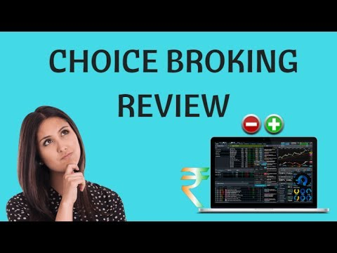 Choice Broking Review - Pricing, Trading Platforms, Exposure - YouTube