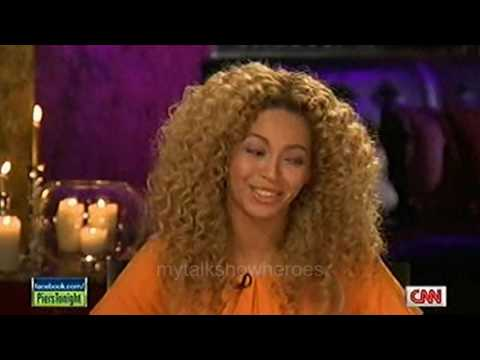 "BEYONCE ON ""PIERS MORGAN LIVE'"