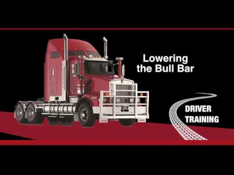 Kenworth T659 Lowering the Bullbar