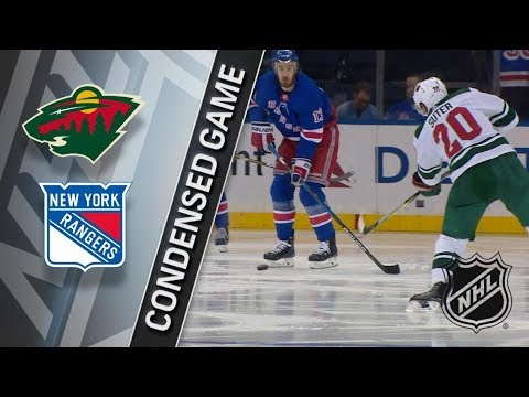 Minnesota Wild vs New York Rangers – Feb. 23, 2018 | Game Highlights | NHL 2017/18. Обзор