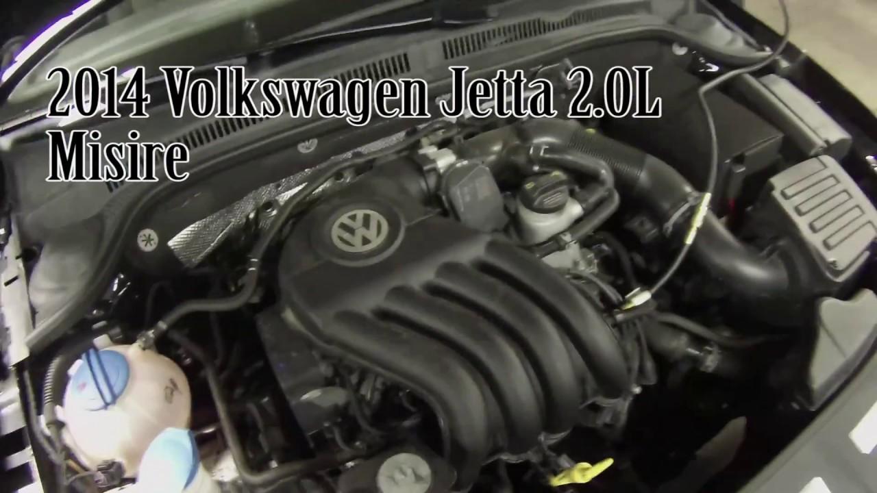 2014 Volkswagen Jetta- P0302 Cyl 2 Misfire (2.0L-Leaky Fuel Inj.) - YouTubeYouTube