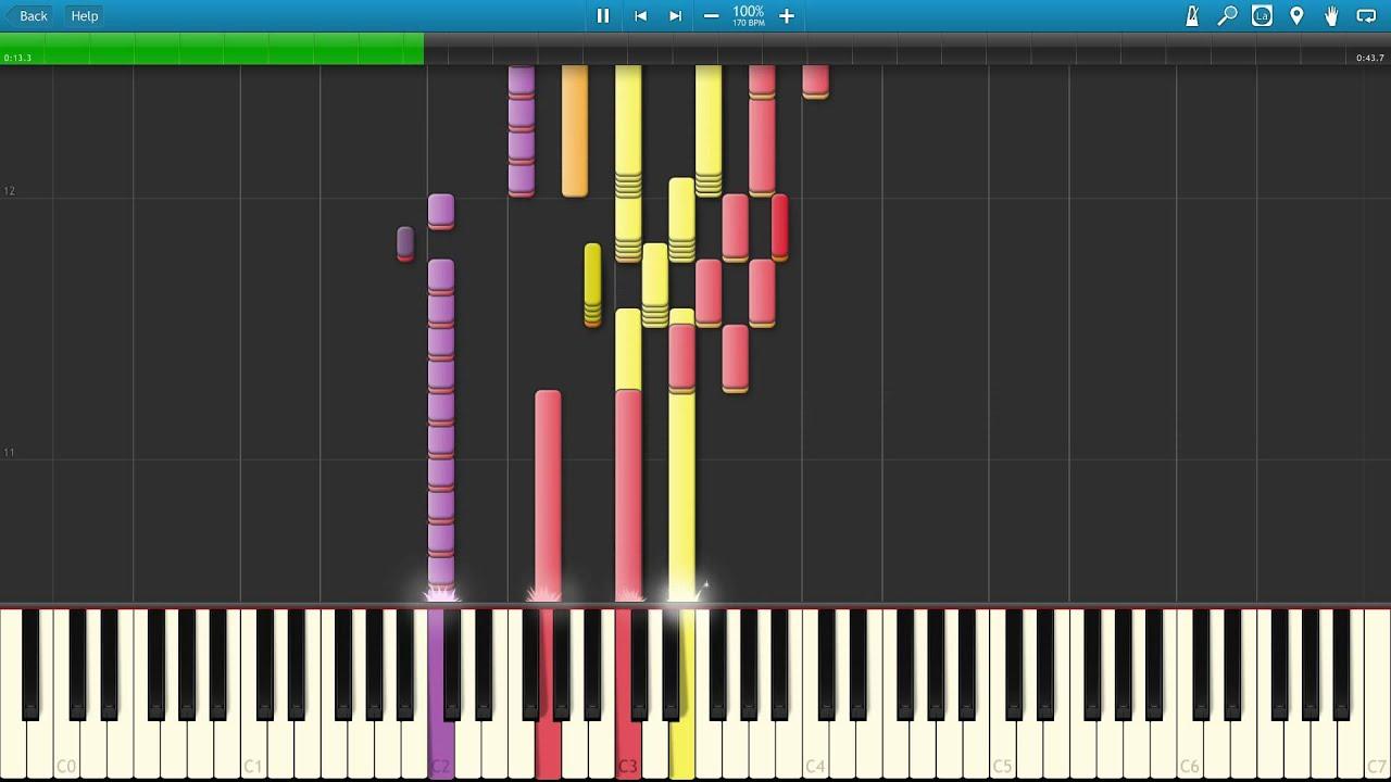 Pokemon X & Y Wild Pokemon Encounter Piano Tutorial