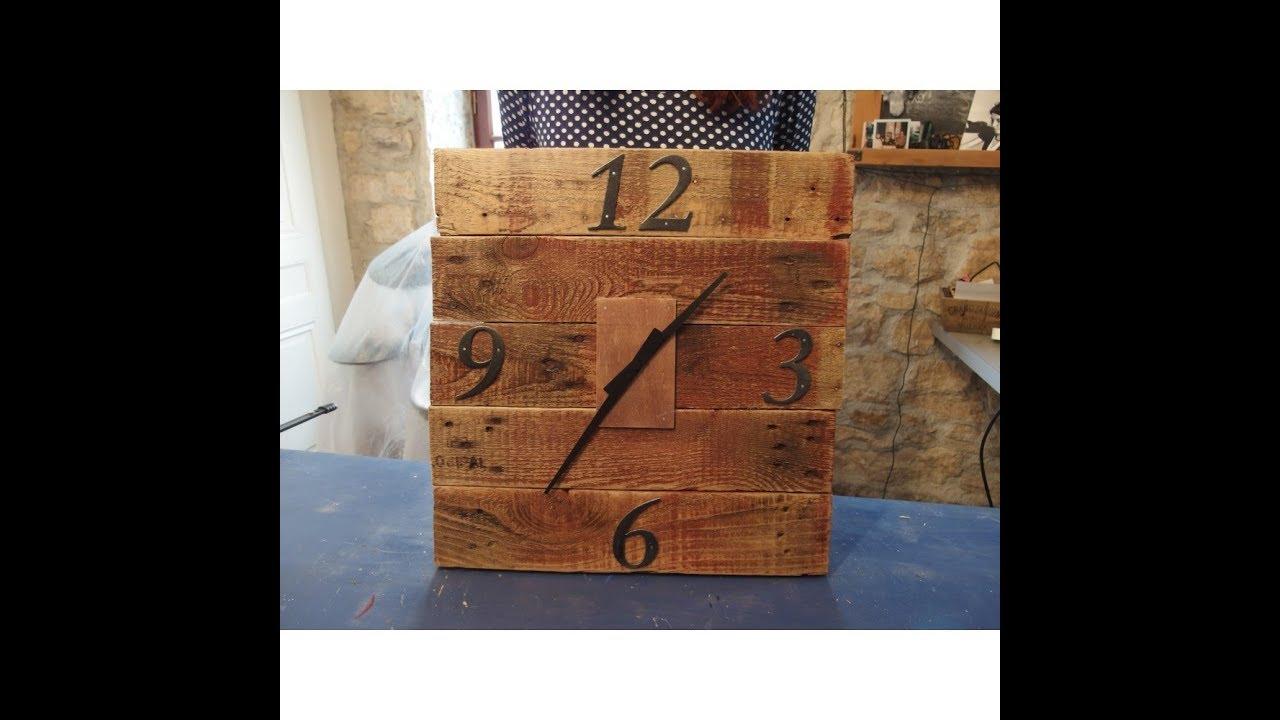 Comment Fabriquer Un Mobile En Bois diy comment fabriquer une horloge en bois avec black et decker