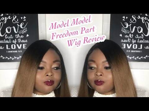 Affordable Wig Review -Model Model Freedom Part Wig Style 101