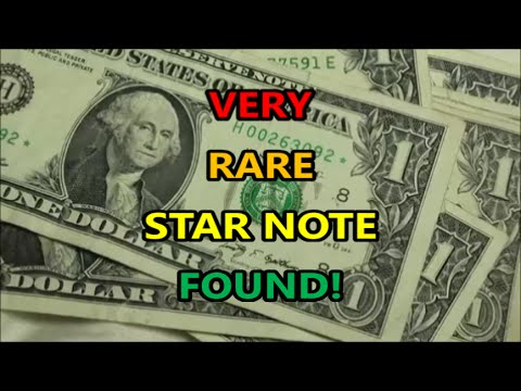 VERY RARE STAR NOTE FOUND Also RADAR BANKNOTE And Other FANCY NOTES Found BANK STRAP HUNTING