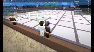 Tragic and Bazaar moments on Roblox with some Martial Arts