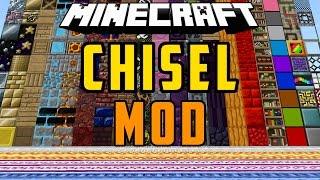 CHISEL 2 MOD: Muchos Bloques Para Construir - Minecraft Mod 1.7.10