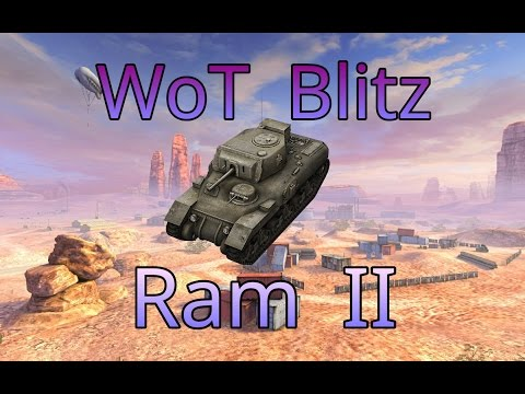 WoT Blitz: 2 Gefechte mit dem Ram II / QUARRY
