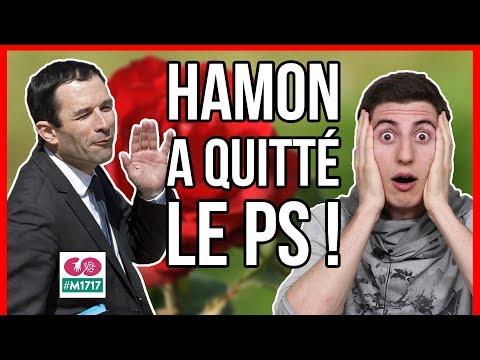 BENOIT HAMON A QUITTÉ LE PS