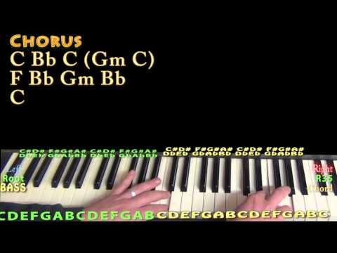 Chevy Van (Eric Church) Piano Lesson Chord Chart