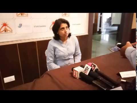 Media Conference on Tobacco  in Hisar, Haryana
