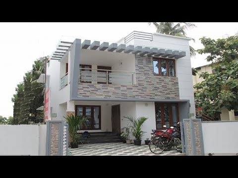 Small Budget Double FloorHouse 700 Sft for7 lakh | Elevation | Interiors
