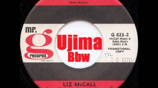 LIZ MCCALL   Double Determination   Mr  G RECORDS