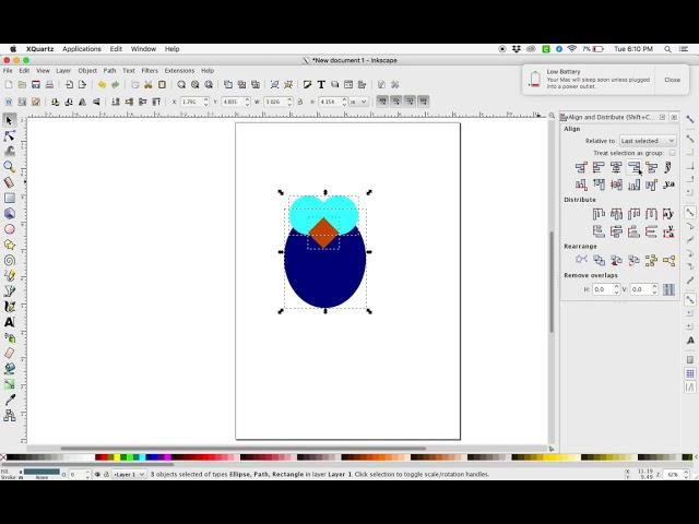Inkscape: Draw an Owl