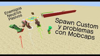 Mobcaps y Spawns Custom | Minecraft Datapack Tutorial