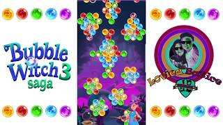 Bubble Witch Saga 3 - Level 286 - 290 - Gameplay