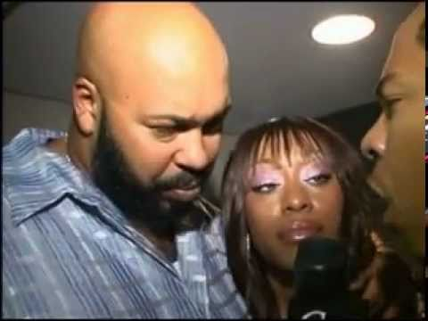 Suge Knight and Petey Pablo Interview (Suge prepares to Eat the Journalist)