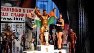 MR.WORLD 2015 WASIM KHAN OVER ALL TITLE  WINNER