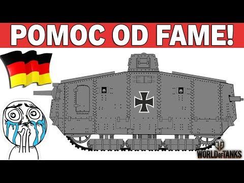 POMOC od FAME !!! - Polska vs Niemcy w WOT