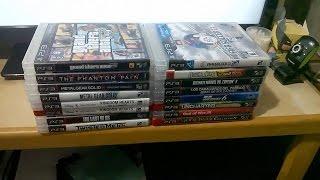 La Pequeña Coleccion de Juegos de PS3 Fisicos y Digitales de Logan
