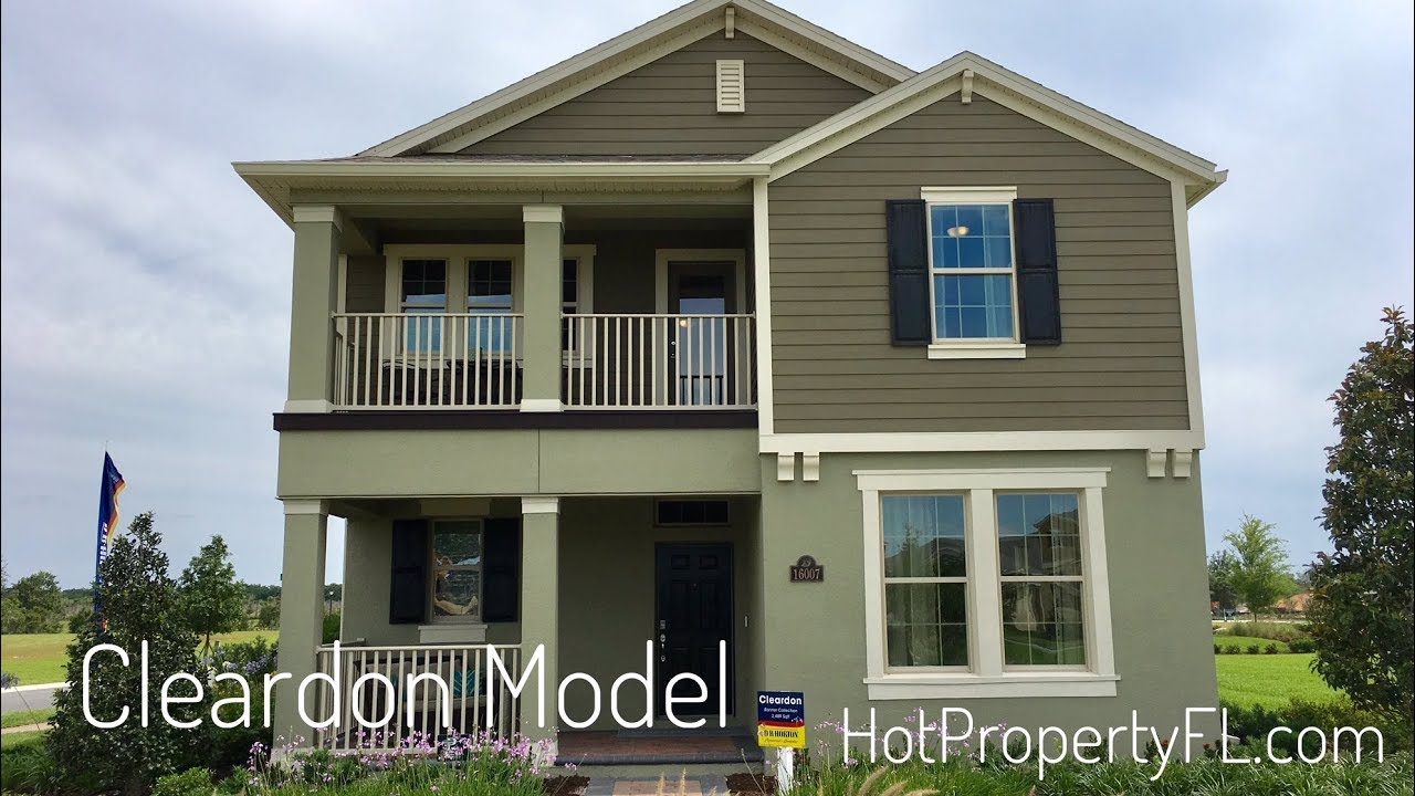 Cleardon Model At Waterleigh. New Homes Winter Garden FL