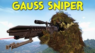 THE GAUSS SNIPER! - Arma 3: DayZ Tanoa - Ep.2