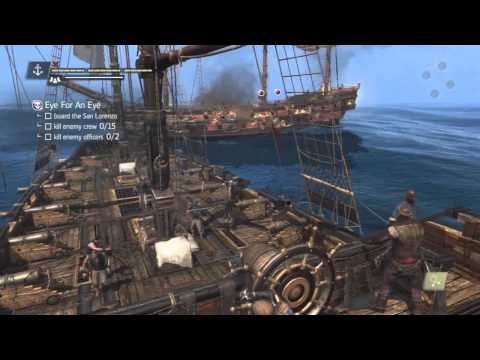 Assassin's Creed 4 - Naval Contract - Eye for an Eye Walkthrough