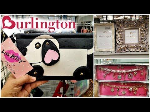 Shop With ME BURLINGTON CATHERINE MALANDRINO HANDBAGS HOME KITCHEN IDEAS WALK THROUGH 2018