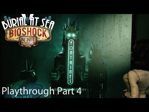 Bioshock Infinite Burial at Sea Episode 2 Playthrough Part 4: Fontaine's Office