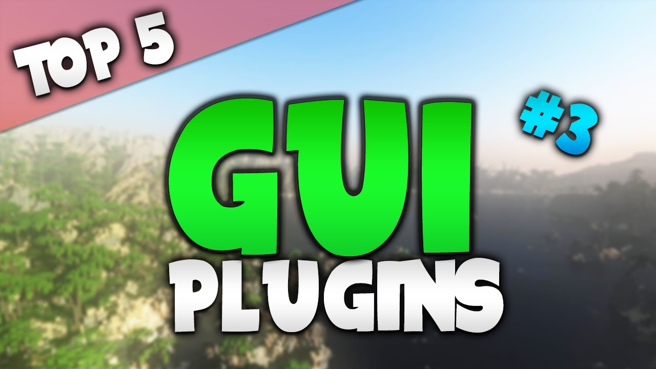Minecraft Saturday | Top 5 `GUI` Plugins (SPECIAL)!
