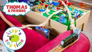Thomas and Friends | Couch Challenge with Thomas Train, Brio, and KidKraft | Fun Toy Trains for Kids